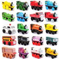 토마스와 친구 토마스 나무 기차 장난감 고든 헨리 던컨 미니 나무 기차 장난감 토마스 기차 아이들을위한 장난감 선물