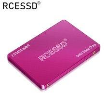 Rcessd rosa ssd 128gb 240gb 480gb 360gb 2.5 polegadas sata3 unidade de estado sólido 512gb 64gb hdd pc