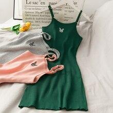 Мини-платье-комбинация, облегающее пикантное платье-бабочка, женские вязаные клубные платья, женская элегантная одежда для вечерние и ночн...