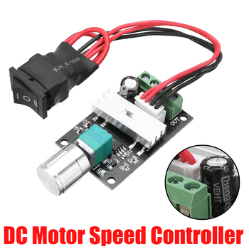 цена на 3A DC 6V/12V/24V PWM Motor Controller Adjustable Forward Backward Switch Linear Actuator Governor Speed Control