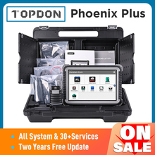TOPDON 피닉스 플러스 자동차 진단 스캐너 자동 스캔 자동차 전문 진단 진단 ECU 코딩 2 년