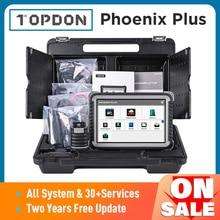 TOPDON Phoenix Plus Auto Diagnose Scanner Auto Scan Automotive Professionelle Diagnose Diagnost ECU Codierung 2 Jahre