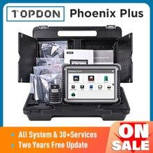 TOPDON Phoenix Plus Car Diagnostic Scanner Auto Scan Automotive Professional Diagnosis Diagnost ECU Coding 2 Years