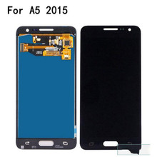 TFT For Samsung Galaxy A5 2015 LCD A500 A500F A500FU A500H Display Touch Digitizer Sensor Glass Assembly Can Adjust with Tools все цены