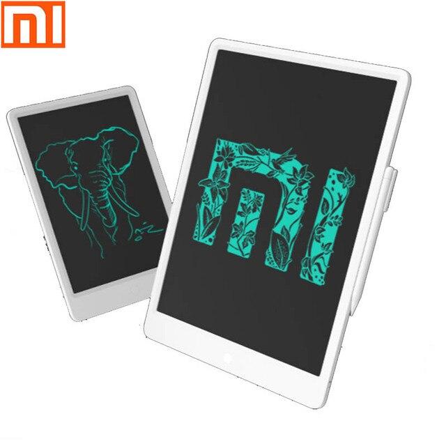 Xiaomi Mi LCD yazı tahtası yazma Tablet kalem ile dijital çizim elektronik el yazısı mesaj Mat grafik kartı mesaj panosu