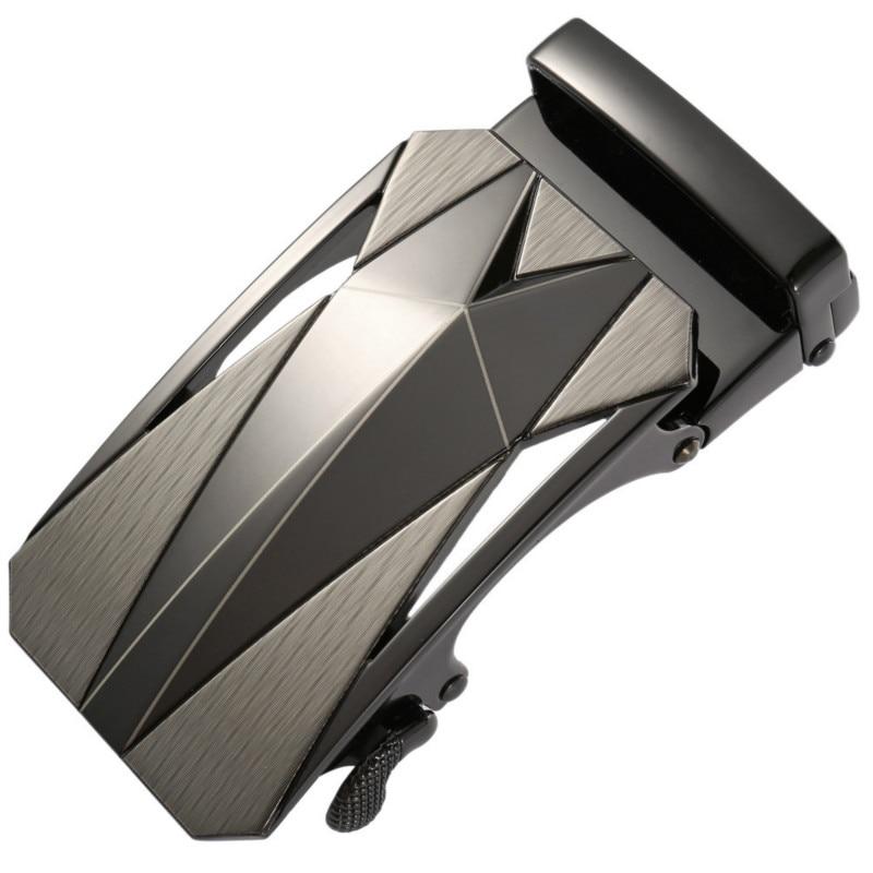 New Genuine Men's Belt Head, Belt Buckle, Leisure Belt Head Business Accessories Automatic Buckle Width 3.5CM Belts LY136-22078