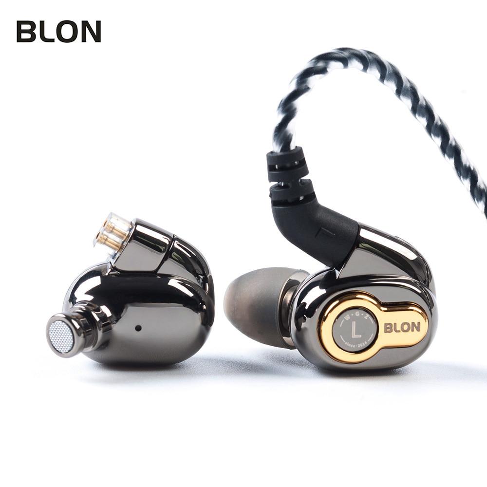 Image 3 - BLON BL 05 BL05 BL 03 BL03 10mm 2nd Generation Carbon Nanotube CNT Diaphragm In Ear Earphone HIFI DJ Sport Earbuds with 2pinEarphones   -