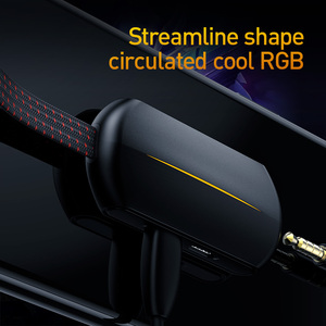 Image 3 - Baseus 3 في 1 USB نوع C OTG محول USB C إلى 18 واط سريع شحن جاك 3.5 مللي متر Aux سماعة OTG كابل محول لسامسونج نوت 10