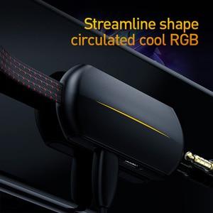 Image 3 - Baseus 3 в 1 взаимный обмен данными между компьютером и периферийными устройствами Type C OTG адаптер для USB C до 18 Вт быстрой зарядки Jack 3,5 мм Aux Наушники Кабель адаптер On The Go для Samsung Note 10