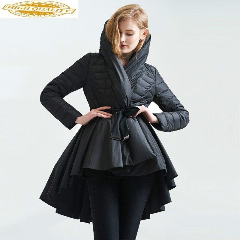Winter Coat Down Jacket Women Winter Jackets Woman Hooded Long Coats Parka Streetwear Overcoat Chamarras De Mujer KJ600