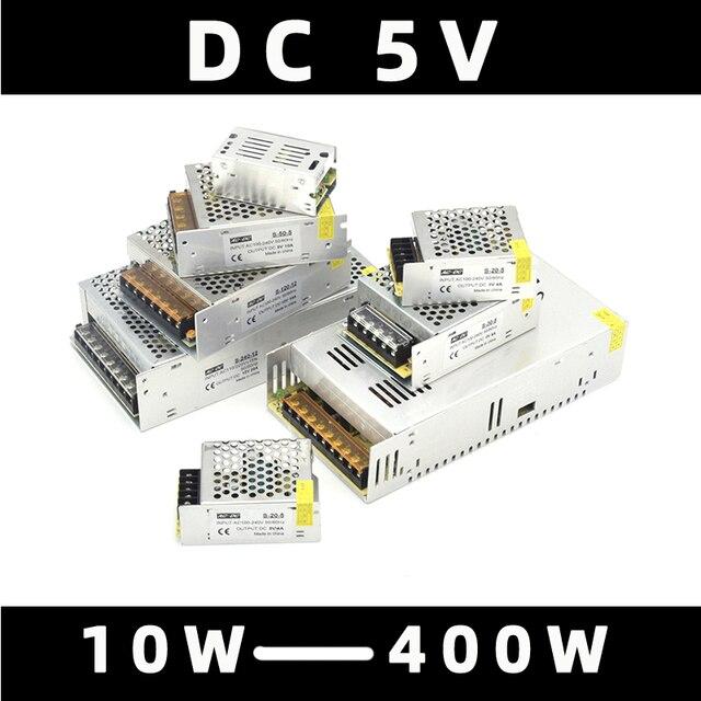 AIFENG DC 5V switching power supply source 110V / 220V To dc 5V 4A 5A 6A 10A 20A 60A  5V 220v to 5v power supply transformer
