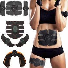 Stimulateur musculaire EMS, Massage électrique pour stimuler l'abdomen, les fessiers et l'abdomen, masseur de perte de poids