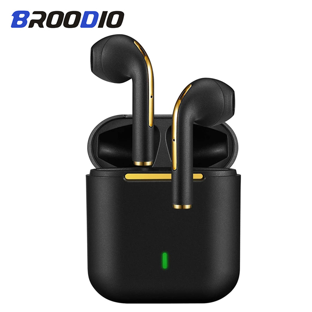 Earbuds Bluetooth 5.0 Wireless Earphones With HD Stereo Sound Music Touch-Control Pop-Up Headphone Sport Headset For Android IOS