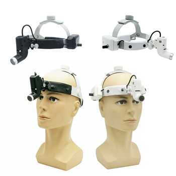 5W LED Surgical Dental Operation Lamp Medical Headlight Headband Spot HeadLamp ENT ORAL Surgery Dentistry Endodontics dental led operation lamp oral light for dental unit with sensor manual switch