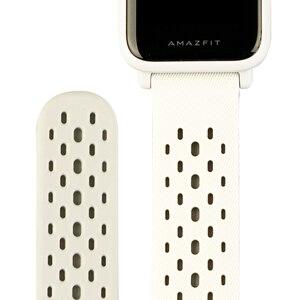 Image 2 - الأصلي الرياضة حزام ساعة اليد ل شاومي Huami Amazfit بيب لايت ساعة ذكية GTS GTR (42 مللي متر)