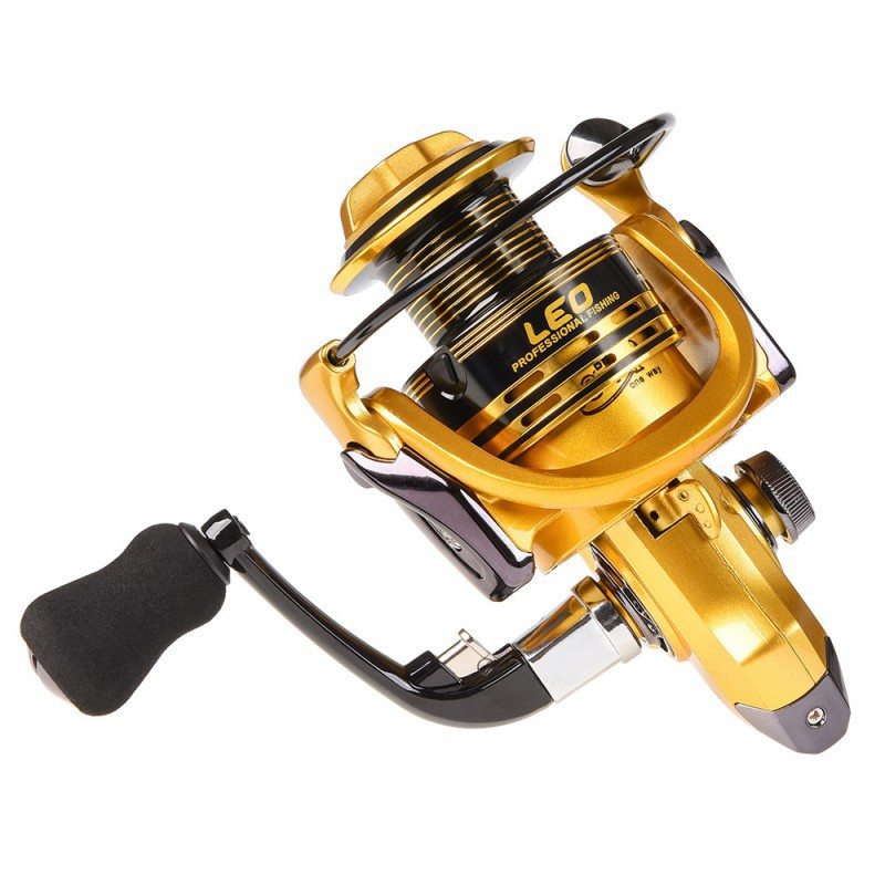 Fishing Reel LEO Spinning GT-6000 Saltwater Stationary Accessories
