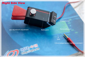 Image 3 - Gratis verzending UNI 715 Automatische Paddle Key Keyer CW Morse Code voor HAM RADIO YAESU FT 817 818 rechterhand of linkerhand