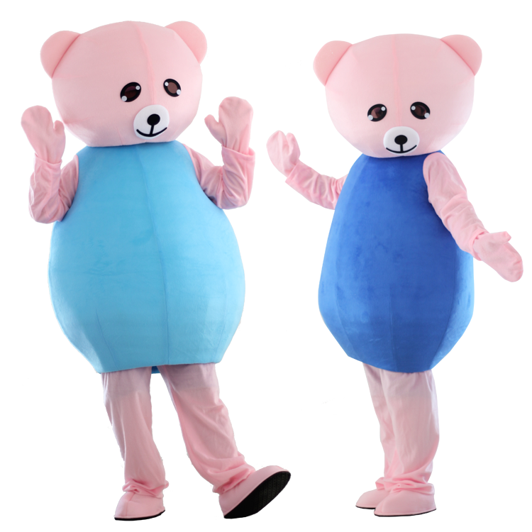 Bear Mascot Costume Suits Cosplay Party Game Dress Outfits Clothing Advertising Carnival Halloween Christmas Easter