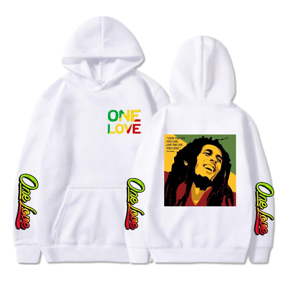 Купить winter hoodies sweatshirts bob marley print hoodie long sleeve