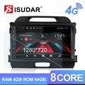 Isudar H53 4G Android 1 Din Auto Radio Für KIA/Sportage Auto Multimedia Player Octa Core RAM 4GB ROM 64GB GPS USB DVR Kamera DSP