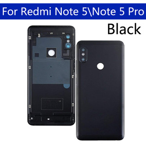 Image 3 - Battery Back Cover For Xiaomi Redmi Note 5 Back Battery Door Rear Housing Cover For Redmi Note 5 Pro Case Chassis replacement
