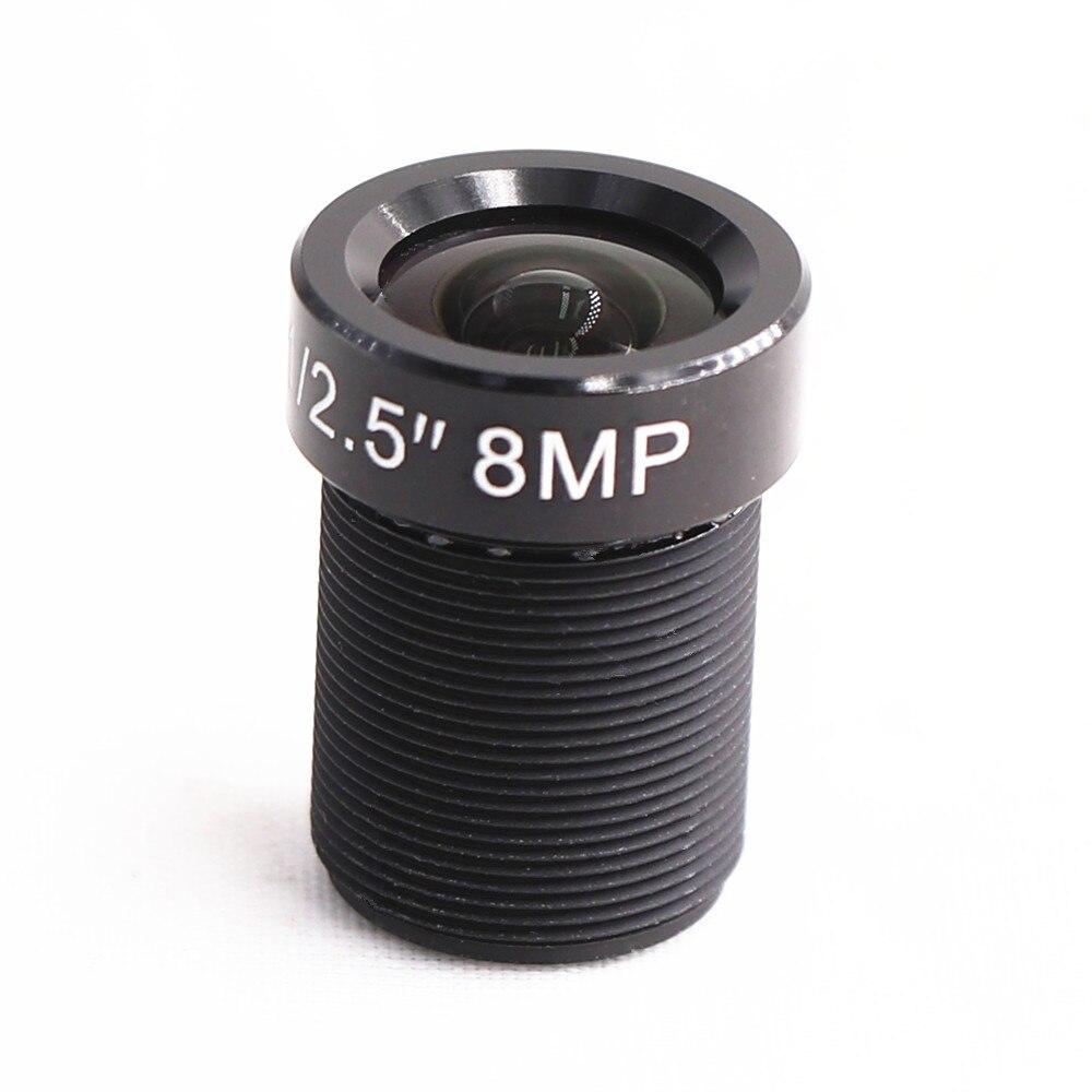 8MP 4mm Manual Fixed Focus M12 Mount Lens