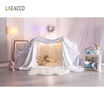 Laeacco Baby Shower Photophone Tent Light Curtain Photography Backdrops Child Newborn Portrait Photo Backgrounds Photozone Props laeacco baby shower photophone starry sky moon clouds photography backgrounds birthday backdrops newborn photocall photo studio