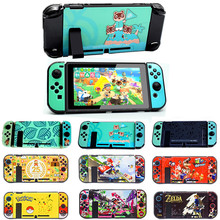 Nieuwe Nintend Switch Pc Harde Beschermhoes Cover Shell Voor Nitendo Switch Console Vreugde Con Controller Protector Directe Docking