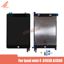 2 Pcs Original For iPad Mini 4 Mini4 A1538 A1550 LCD Display Touch Screen Digitizer Assembly Replacement Part For LCD Assembly new brand tested for ipad mini 4 lcd a1538 a1550 display screen with touch screen digitizer assembly 1pcs 7 9 inch replacement
