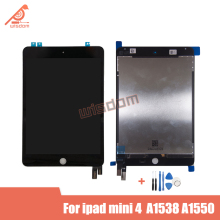 2 Pcs Original Touch Screen Digitizer Assembly For iPad Mini 4 Mini4 A1538 A1550 LCD Display Replacement Part For LCD Assembly new brand tested for ipad mini 4 lcd a1538 a1550 display screen with touch screen digitizer assembly 1pcs 7 9 inch replacement