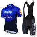 Quick Step Deceuninck 2021 Pro команда Велоспорт Джерси костюм рубашки велосипед комплект MTB Ciclismo Ropa куртка нагрудники шорты Maillot велосипедный комплект