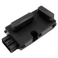 New Black Passenger 8 Way Power Seat Switch Fit for Silverado Sierra 1500/2500/3500 12450254