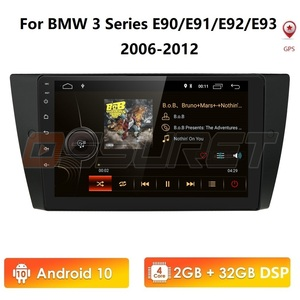 9 INCH 2GB 32GB Android10 WIFI 1 Din car radio gps navigation for bmw 3 series e90 E91 E92 E93 with SWC Bluetooth Touch Screen