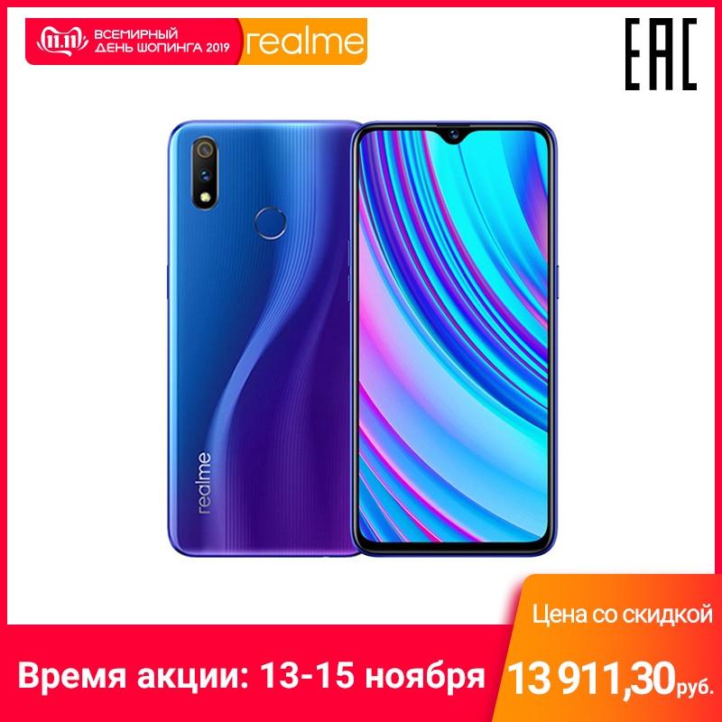 Smartphone realme 3 Pro 4 + 64 GB Snapdragon 710 AIE, ricarica Veloce, il funzionario Russo garanzia prodotta in fabbriche OPPO