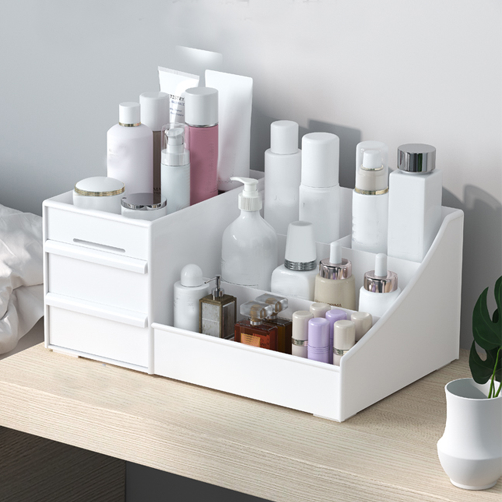 Good Price of  Lipstick Organizer Cosmetics Stand Box Kitchen Bathroom Storage Box Storage Box Sundries Container