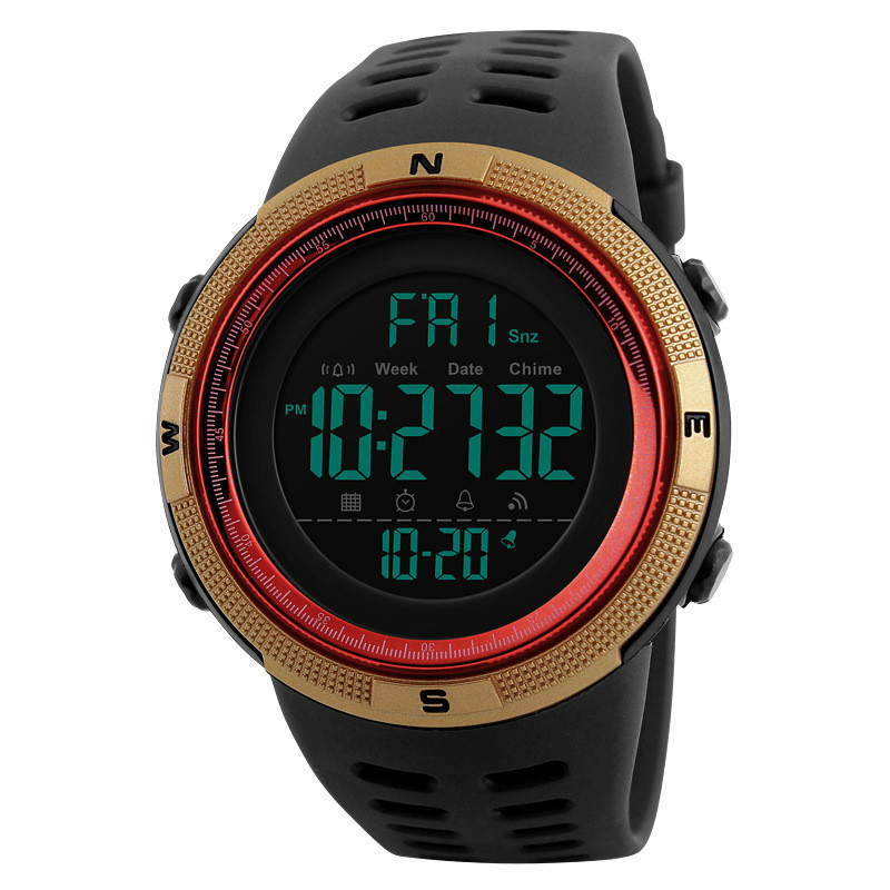 US Electronic Watch Skmei Outdoor Sports Student Watch Waterproof Sports Watch Electronic Watch
