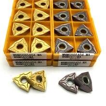 WNMG080404 WNMG080408 MA VP15TF UE6020 hartmetall Einsätze Externe Drehen Werkzeug metall drehmaschine werkzeuge CNC drehen einfügen Schneiden werkzeug