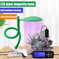 Двойной светодиодный светильник для выращивания растений лампа USB таймер полный спектр Крытый растущий блок ламп YU-Home