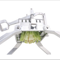 Kitchen Dicing Machine Multi function Vegetable Fruit Cabbage Cutter Manual Lettuce Cutting Stainless Steel Dicer
