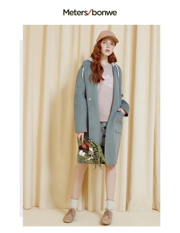 moda misturas de lã quente casaco elegante 739544