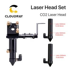 Image 2 - Cloudrayใหม่CO2 E Seriesเลเซอร์ชุดเลนส์D20mm FL50.8 & 63.5 & 101.6 กระจก 25 มม.สำหรับเลเซอร์แกะสลักเครื่อง