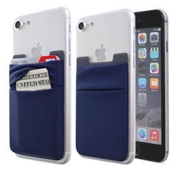 В настоящее время доступны RFID Анти-сканирование лайкра телефон стикер s двойной слой телефон задний стикер 3 м лайкра телефон карта сумка