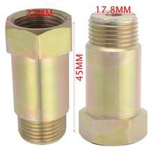 Capteur d'oxygène universel M18 * 1.5 O2, tuyau de Test d'extension, adaptateur de capteur d'oxygène, pièce de voiture, placage de Zinc en fer