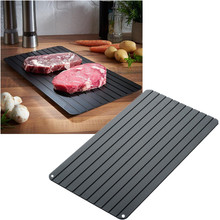 High-quality Fast Defrosting Tray Thaw Frozen Food Meat Fruit Quick Defrosting Plate Board Defrost Kitchen Gadget Tool fast defrosting tray thaw frozen food meat fruit quick defrosting plate board defrost kitchen gadget tool
