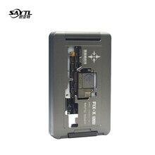 3 in 1 reparatur buchse für iphone x xs xs max motherboard test leuchte für doppel-deck mainboard funktion tester FIX-XSM iSocket