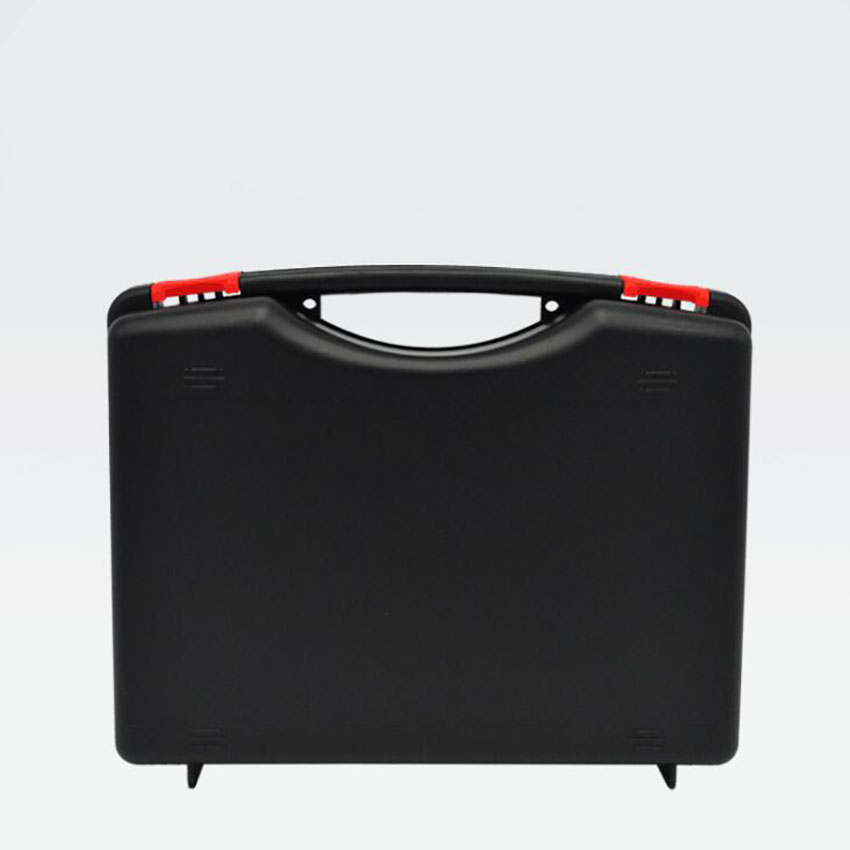 Plastic Carrying Hard Case Portable Tool Packing Case 275x230x82mm Empty Protective Hard Case For Hardware Tools, Black