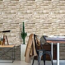 HongMei – papier peint auto-adhésif en imitation brique 3D, autocollant en pierre, pour murs de salon, chambre à coucher, décoration de la maison