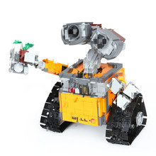 цена на In Stock Star Series Wars 16003 The Robot WALL E 21303 687Pcs Ideas Model Building Kits Blocks Bricks Education Toys Christmas
