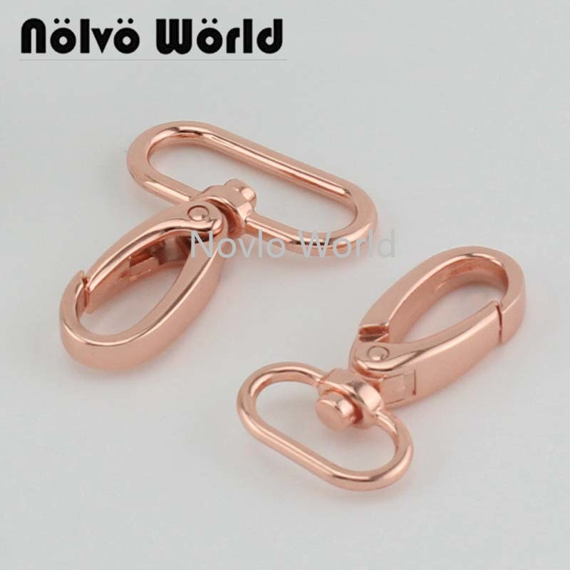 10-30-100 Pieces,rose Gold 46X20mm 3/4