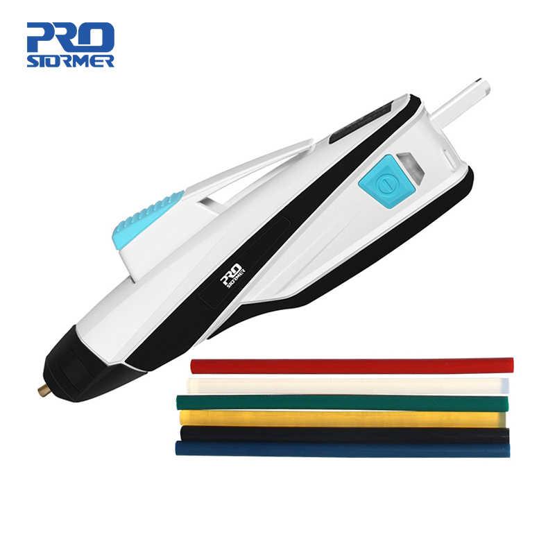 Pistolet à colle USB sans fil pistolet à colle thermofusible chauffage rapide fusion 3.6V chargeur ménage Mini bricolage outils de réparation par PROSTORMER